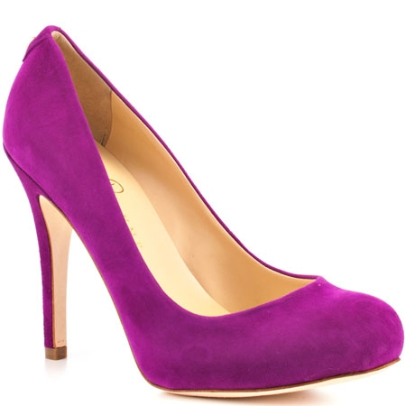 Ivanka Trump - radiant orchid shoes