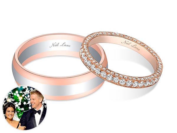 neil-lane-rose-gold-wedding-bands-toronto-wedding-planner